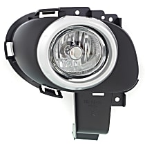 Fog Light - Passenger Side, Hatchback