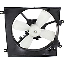 OE Replacement Radiator Fan - Fits 1.5L or 1.8L w/ Manual Trans., Driver Side