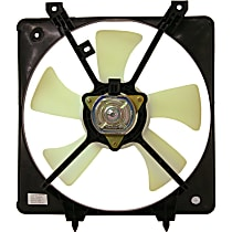 OE Replacement Radiator Fan - Non-Turbo, Driver Side