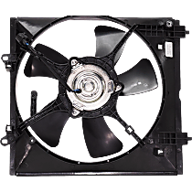 OE Replacement Radiator Fan - Fits Driver Side, 2.0L Non-Turbo