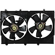 OE Replacement Radiator Fan - Fits 2.4L, Dual type