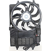 OE Replacement Radiator Fan - Base/S Model, Until 3/03