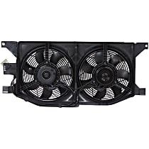 OE Replacement Radiator Fan - Fits 3.2L/3.5L/4.3L, Mounts in Front of Radiator