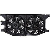 OE Replacement Radiator Fan - Fits 3.2L/3.5L/4.3L, Mounts in Front of Radiator