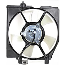 OE Replacement A/C Condenser Fan - Fits 1.6L/1.8L, w/ Factory Air, Passenger Side