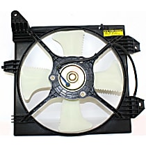 OE Replacement A/C Condenser Fan - Fits 2.0L, Non-Turbo, Passenger Side