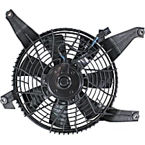OE Replacement A/C Condenser Fan - Mounts Behind Grille