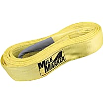 19330 Tow Strap - Yellow, Nylon, Universal, Sold individually