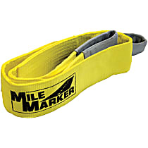 19406 Tow Strap - Yellow, Nylon, Universal, Sold individually