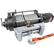 Winch - Hydraulic, 12000 lbs., Steel, Direct Fit