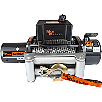 Mile Marker 76-50246BW Winch - Electric, 9500 lbs., Steel, Direct Fit