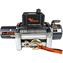 Mile Marker 76-50251BW Winch - Electric, 12000 lbs., Steel, Direct Fit