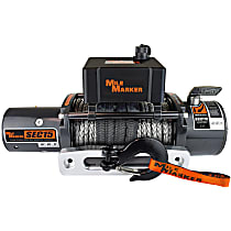 Winch - Electric, 15000 lbs., Synthetic, Direct Fit