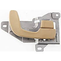 Front, Passenger Side Interior Door Handle, Beige