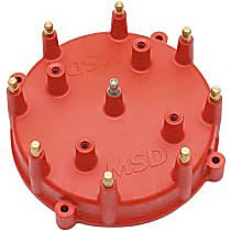 MSD 7408 Distributor Cap - Red, Universal, Sold individually