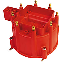 84111 Distributor Cap - Red, Direct Fit, Sold individually