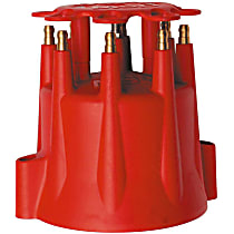 8565 Distributor Cap - Red, Universal, Sold individually