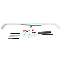 Replacement M611125 Spoiler - Primed, Plastic, Direct Fit, Sold individually