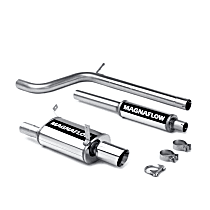 16667 Street Series - 2006-2009 Mitsubishi Eclipse Cat-Back Exhaust System - Made of Stainless Steel