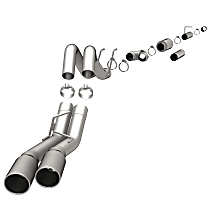 Magnaflow Black - 2008-2010 Ford DPF-Back Exhaust System - Made of Stainless Steel