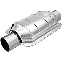 Magnaflow OEM Grade (48-State) Semi-Universal 51134 Catalytic Converter, Stainless Steel, Sold Individually