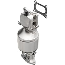 Catalytic Converter - 46-State Legal (Cannot ship to CA, CO, NY or ME) - Front