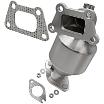 OEM Grade (48-State) Direct Fit Catalytic Converter, Stainless Steel, Sold Individually