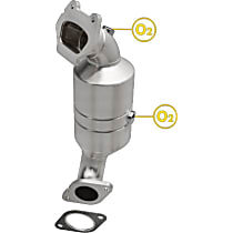 Magnaflow OEM Grade (48-State) Direct Fit 52227 Catalytic Converter, Stainless Steel, Sold Individually