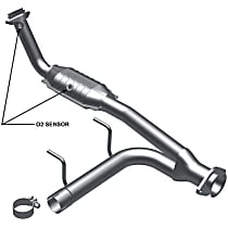 93125 Catalytic Converter - 46-State Legal (Cannot ship to CA, CO, NY or ME) - Passenger Side