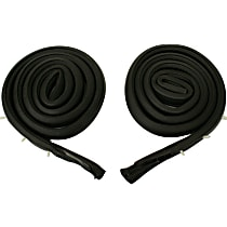 Metro Moulded RR 4002 Roof Rail Seal - Direct Fit, Set of 2