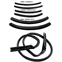 RR 4500-H Roof Rail Seal - Direct Fit, Set of 7