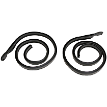Metro Moulded RR 5007 Roof Rail Seal - Direct Fit, Set of 2
