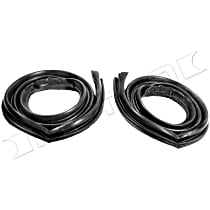 Metro Moulded RR 5014-B Roof Rail Seal - Direct Fit, Set of 2