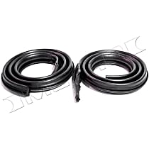 Metro Moulded RR 5015-A Roof Rail Seal - Direct Fit, Set of 2