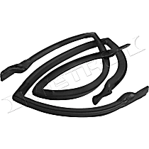 Metro Moulded RR 5019-T Roof Rail Seal - Direct Fit, Set of 2