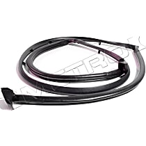 Metro Moulded Weatherstrip Seal - TG 91 - Tailgate, Direct Fit, Sold individually