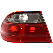Driver Side, Outer Tail Light, Without bulb(s) - Clear & Red Lens, Sedan, Elegance Pkg.