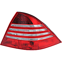 Passenger Side Tail Light, Without bulb(s) - Clear & Red Lens, From VIN A322444, (220) Chassis