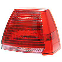 Passenger Side Tail Light, With bulb(s) - Red Lens, 2.4L Eng.