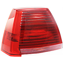 Driver Side Tail Light, With bulb(s) - Red Lens, 2.4L Eng.