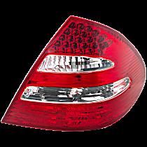 Passenger Side Tail Light, w/ LED Stop Light, Sedan, With Avantgarde Package Model
