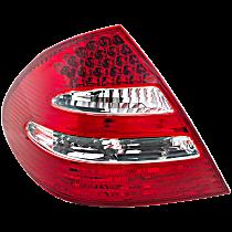 Driver Side Tail Light, w/ LED Stop Light, Sedan, With Avantgarde Package Model