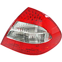 Passenger Side Tail Light, Without bulb(s) - Clear & Red Lens, w/ Appearance Pkg., Sedan, (211) Chassis