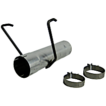 MDAL017 Muffler Delete Pipe - Aluminized Steel, Direct Fit