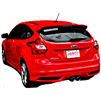 S4200AL Installer Series - 2013-2019 Ford Focus Cat-Back Exhaust System - Made of Aluminized Steel