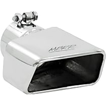 T5119 Exhaust Tip - Polished, Stainless Steel, Single, Universal, Sold individually