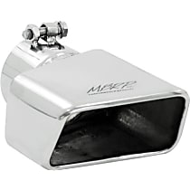 Exhaust Tip - Polished, Stainless Steel, Single, Universal, Sold individually