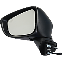 Mirror - Driver Side, Power, Heated, Paintable, With Turn Signal and Blind Spot Function