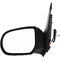 Mirror Heated - Driver Side, Power Glass, Textured Black