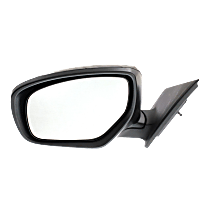 Mirror - Driver Side, Power, Heated, Paintable, With In-Housing Turn Signal, Flat Glass